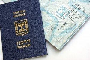 Passport of Israel citizen